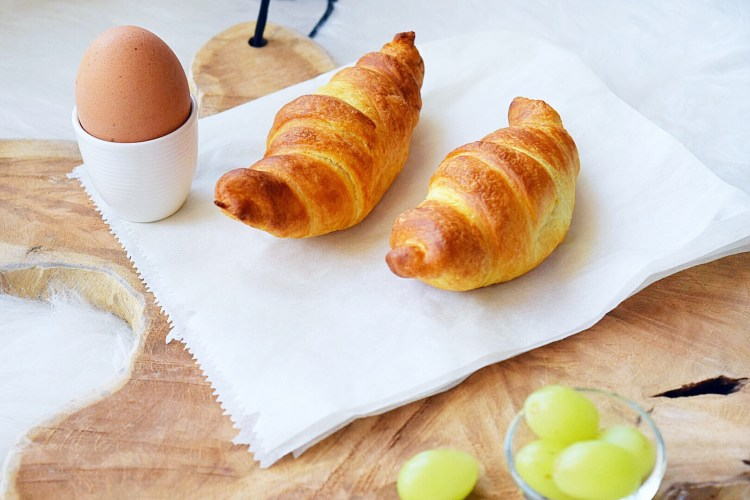 airfryer woensdag croissants