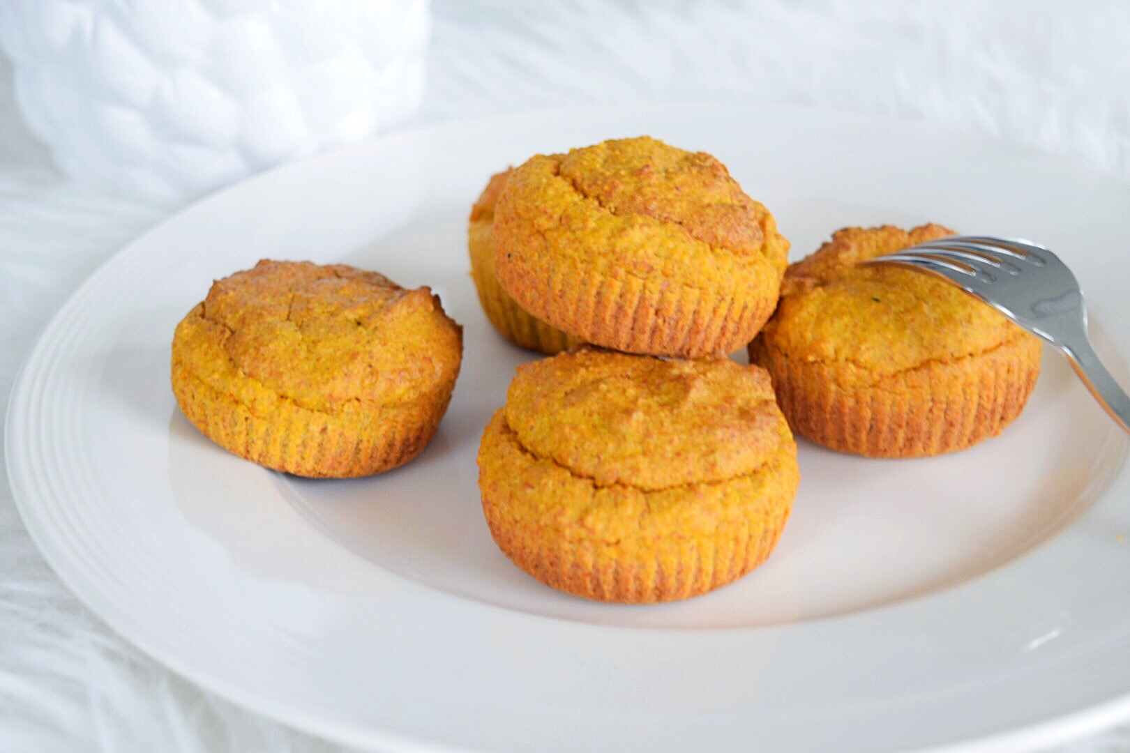 ❤️Healthy Carrot Cupcakes
