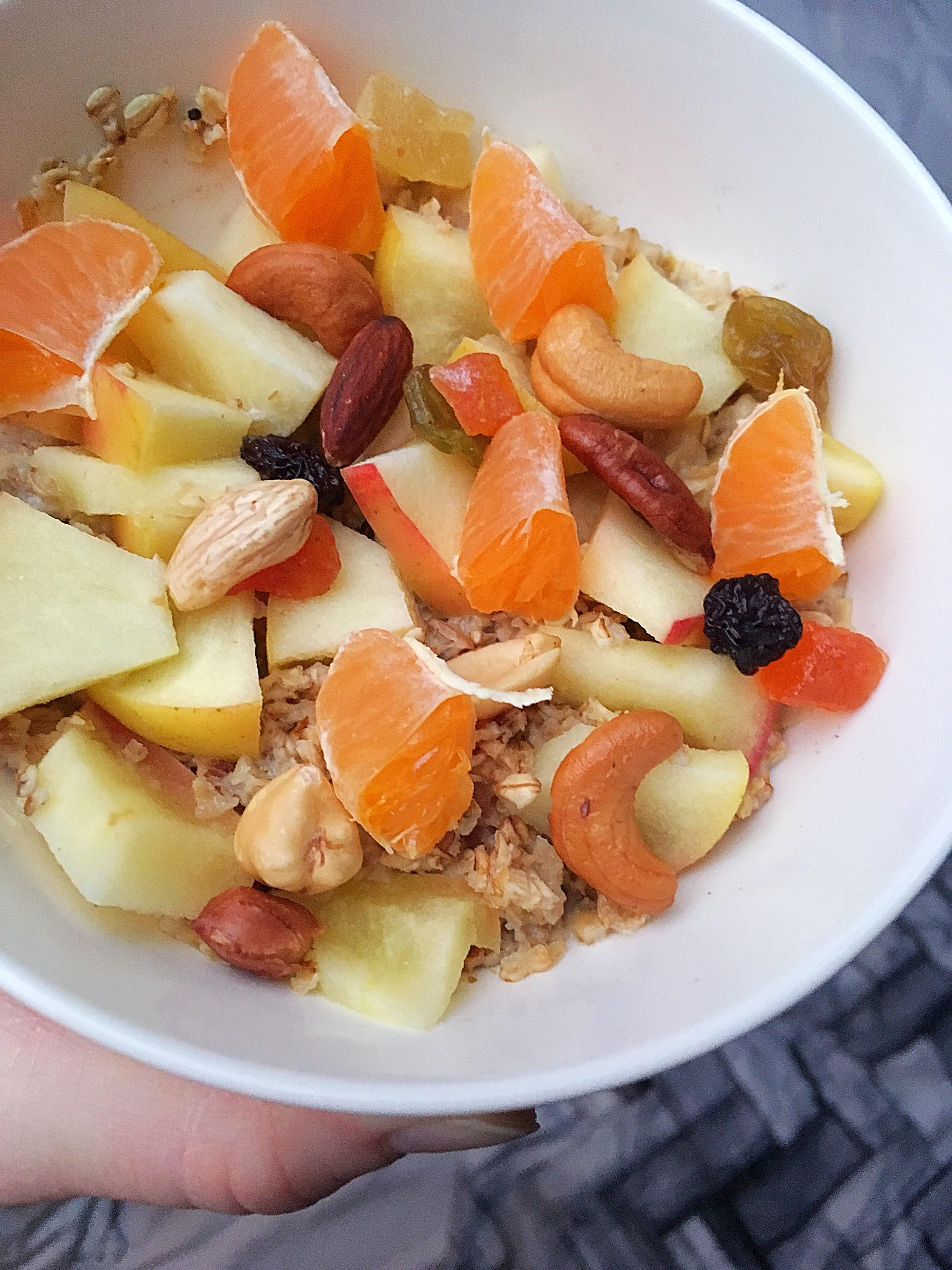 ❤️ Havermout ontbijt met appel