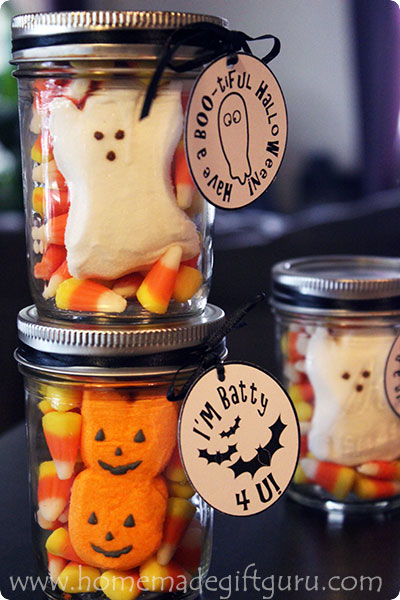 Halloween Candy Ideas For Homemade Gifts