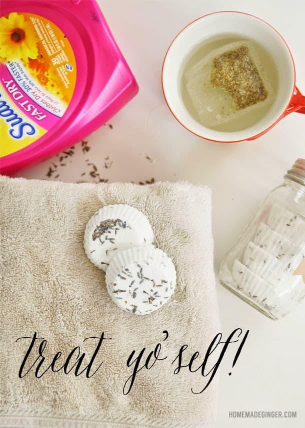 homemade lavender bath bomb recipe and a reivew of suavitel
