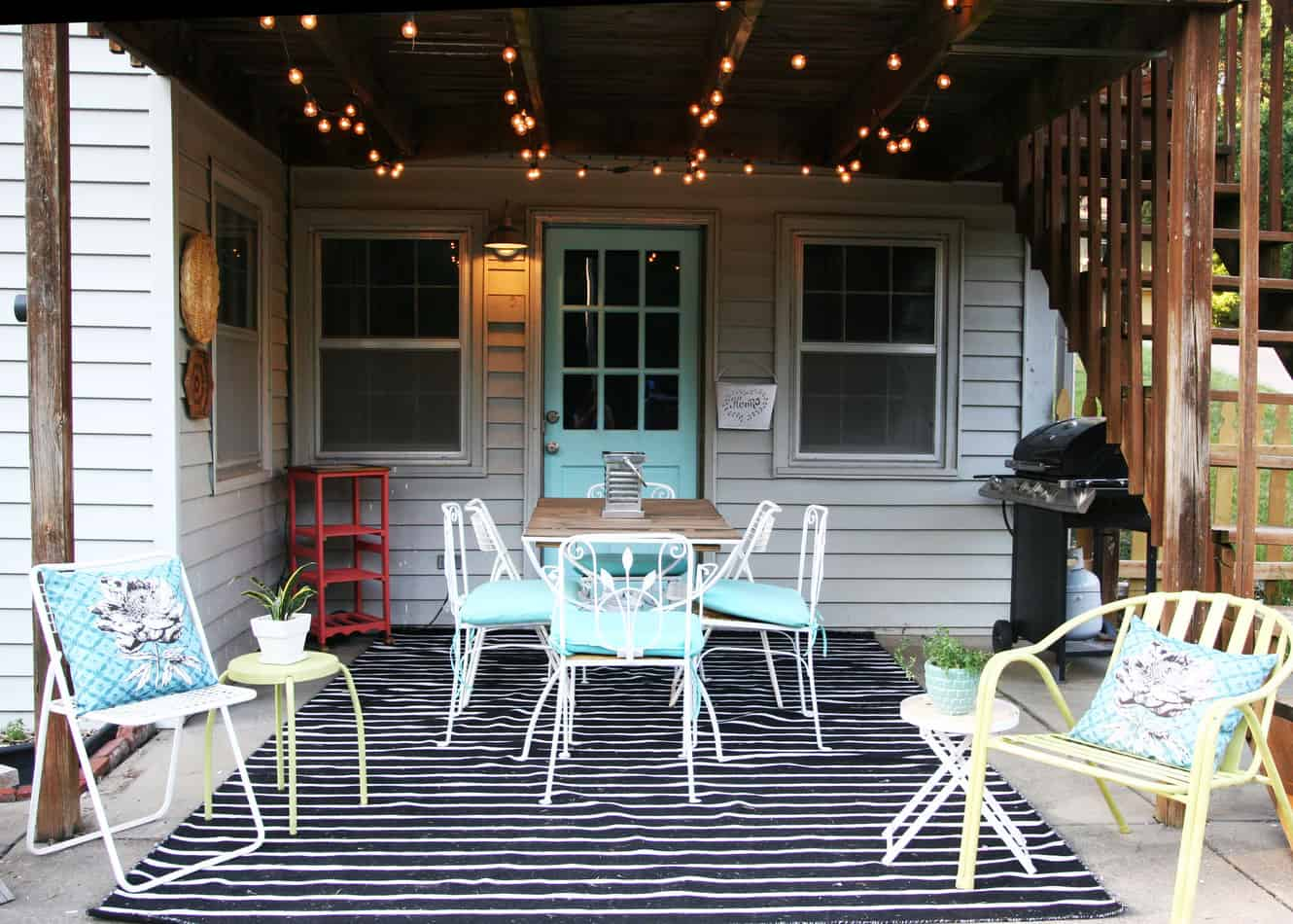 Patio Makeover On A Budget - Homemade Ginger on Backyard Patios On A Budget id=32286
