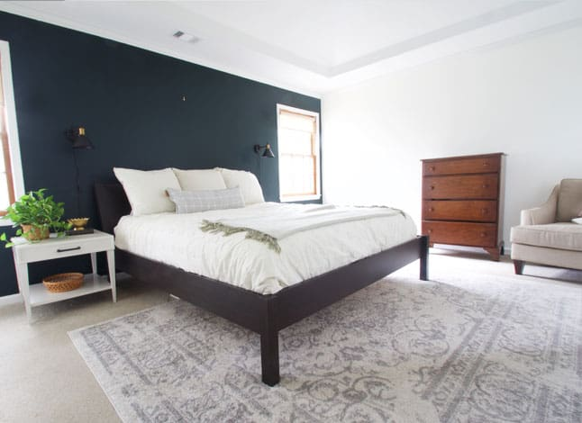 This master bedroom makeover is full of easy DIY projects to elevate a space for cheap!