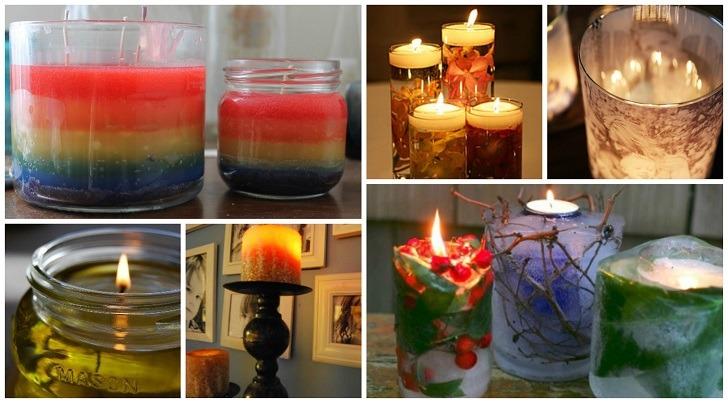 31 Beautiful DIY Candle Ideas