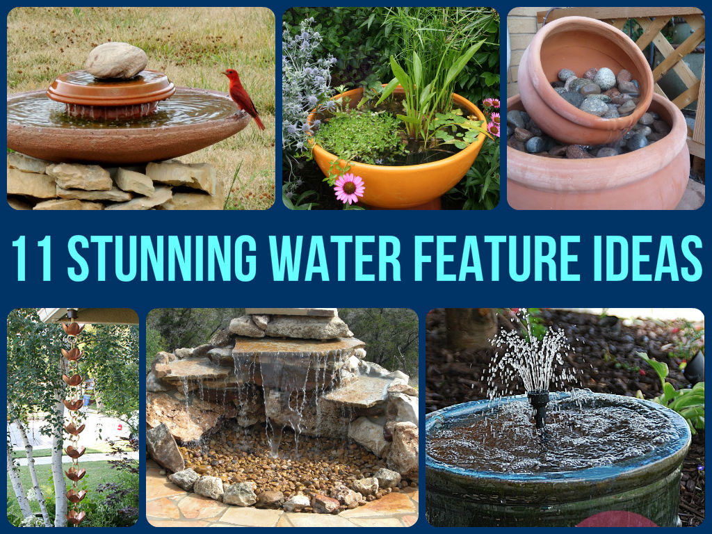 11 Stunning Water Feature Ideas on Water Feature Ideas For Patio id=72175