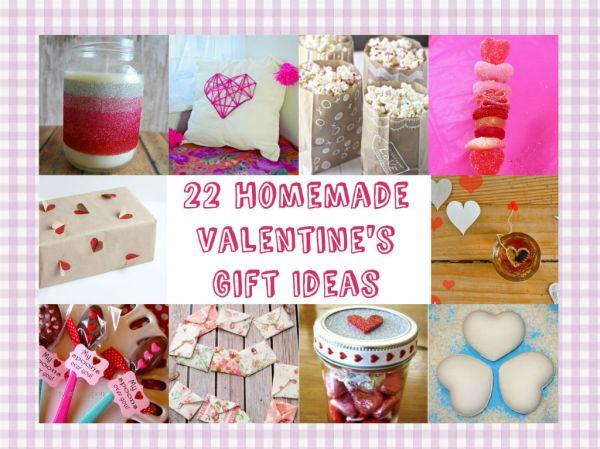 22 Homemade Valentine's Gift Ideas