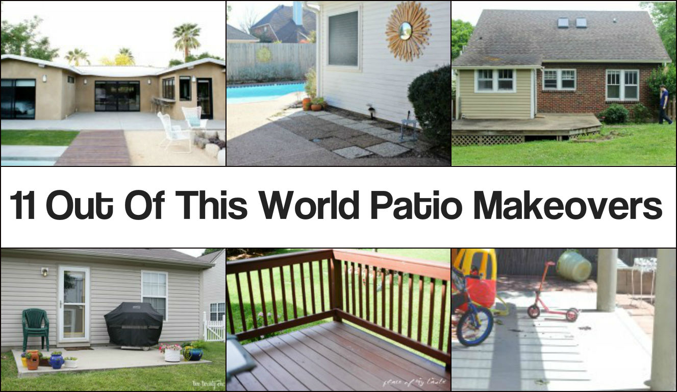 11 Out Of This World Patio Makeovers on Patio Makeovers On A Budget id=66038