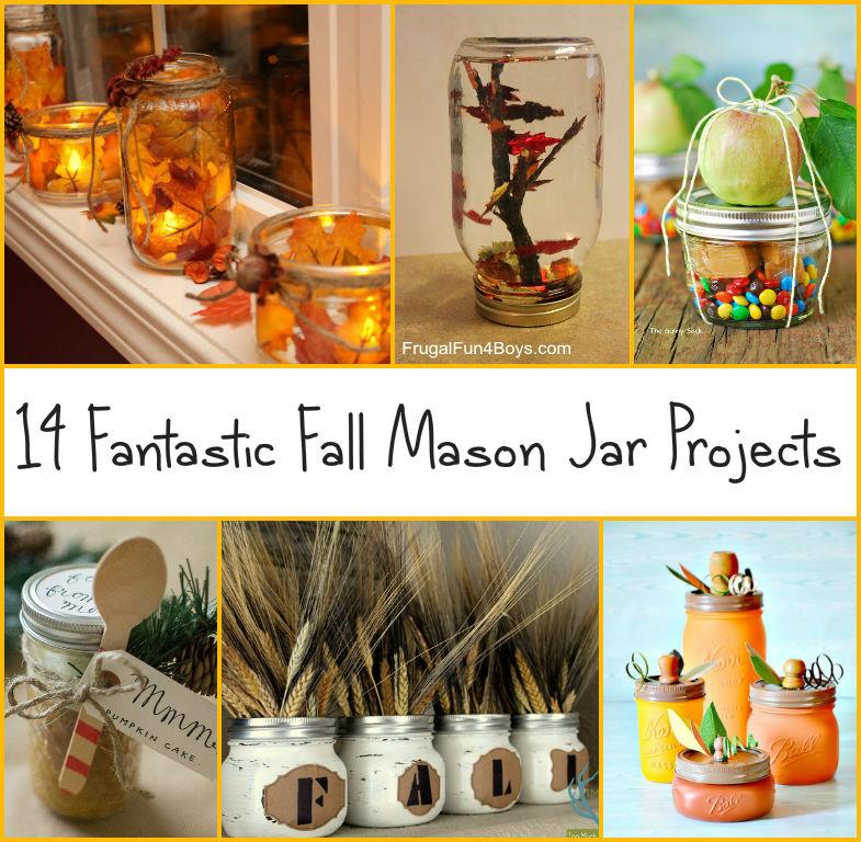 Mason Jar Home Decor Ideas