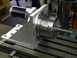 Homemade CNC Rotary Indexer