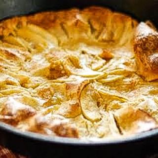 Baked Apple Pancake