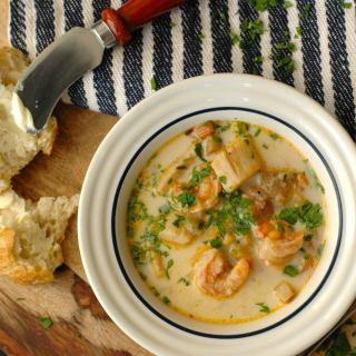 Wintertime Seafood Chowder Recipe