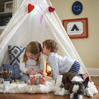 Create a Cozy Indoor Campsite for Family Fun and Gourmet S'mores