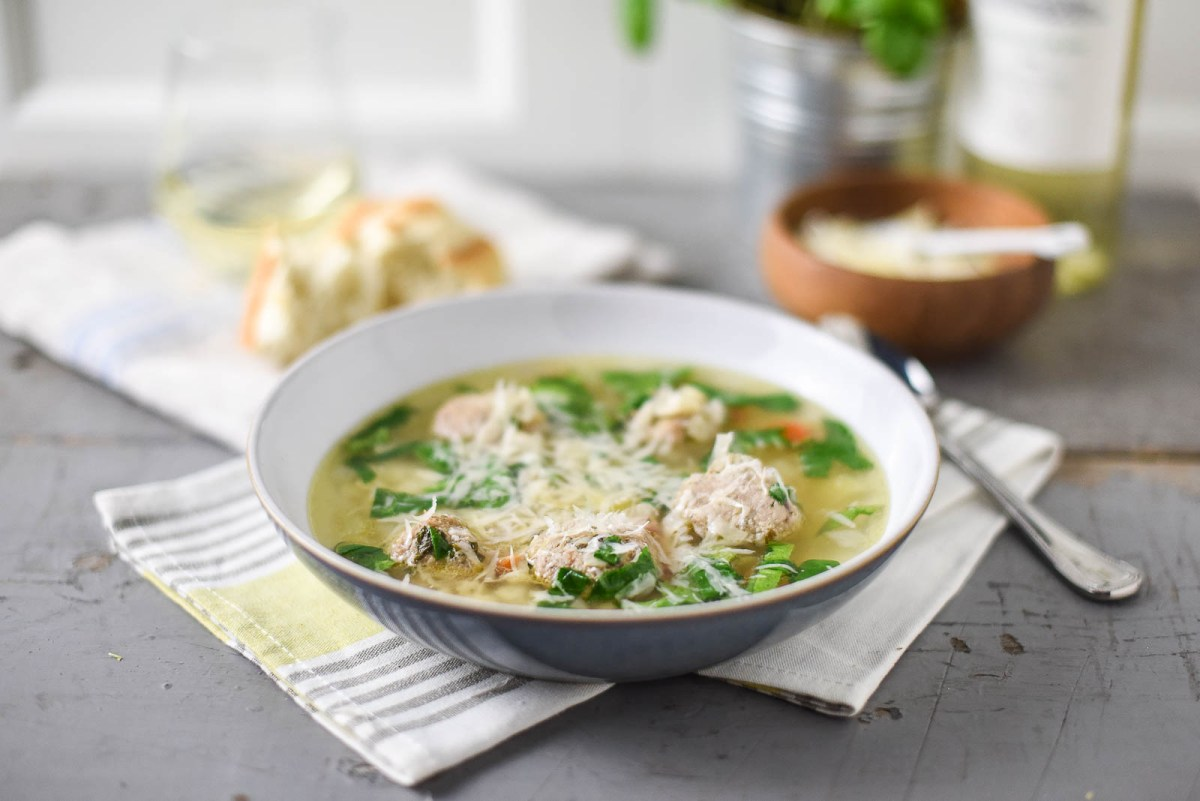 Slow Cooker Italian Wedding Soup Recipe
