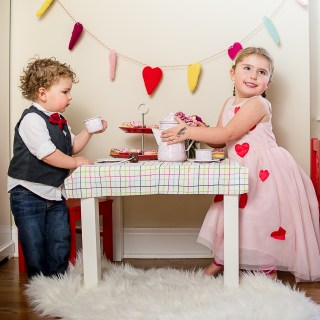 Sweet Tea: Remembering Our Valentine's Day Tea Party