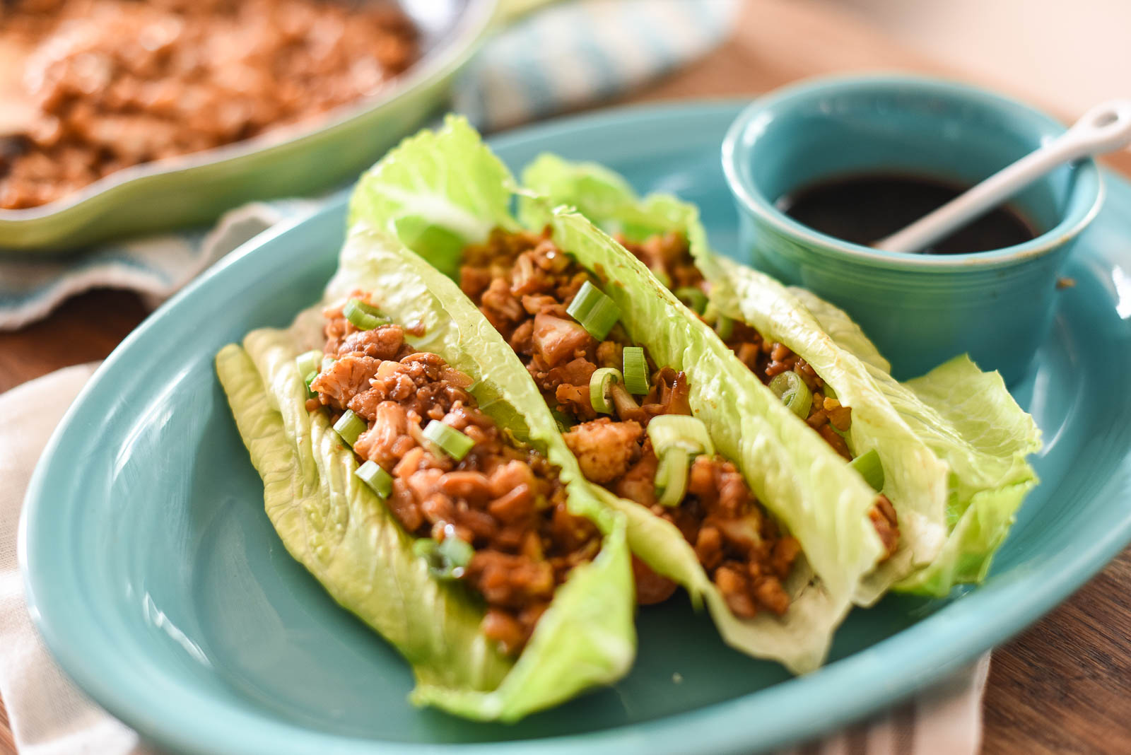 Cauliflower Lettuce Wraps