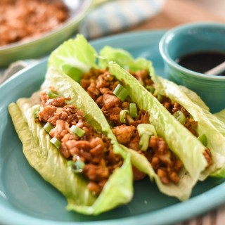 Asian Lettuce Wraps with Cauliflower