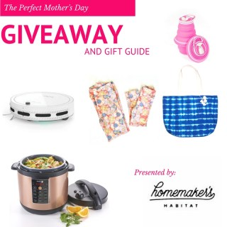 The Perfect Mother's Day Giveaway and Gift Guide