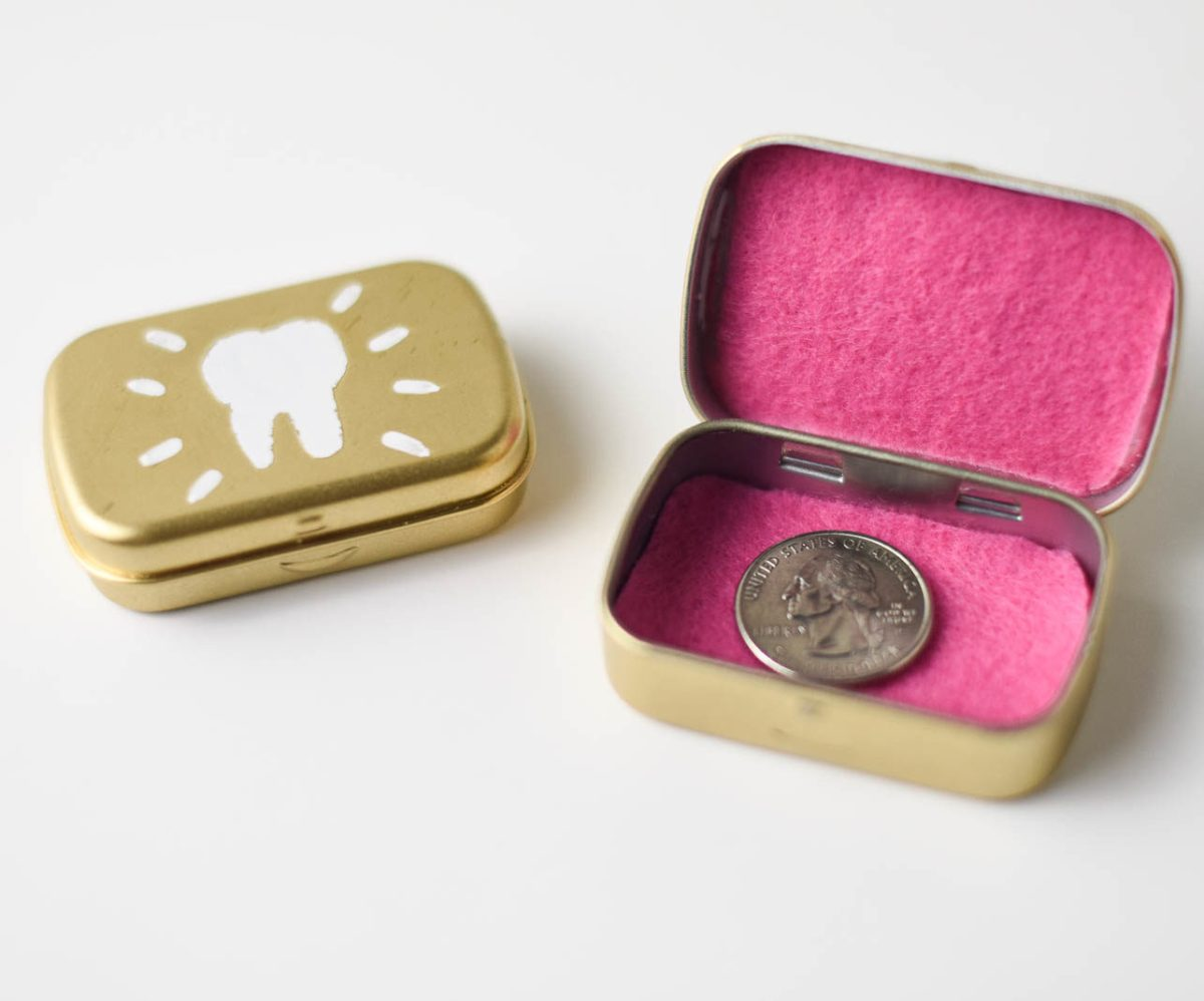 How to Make a Lost Tooth Box from a Mint Tin