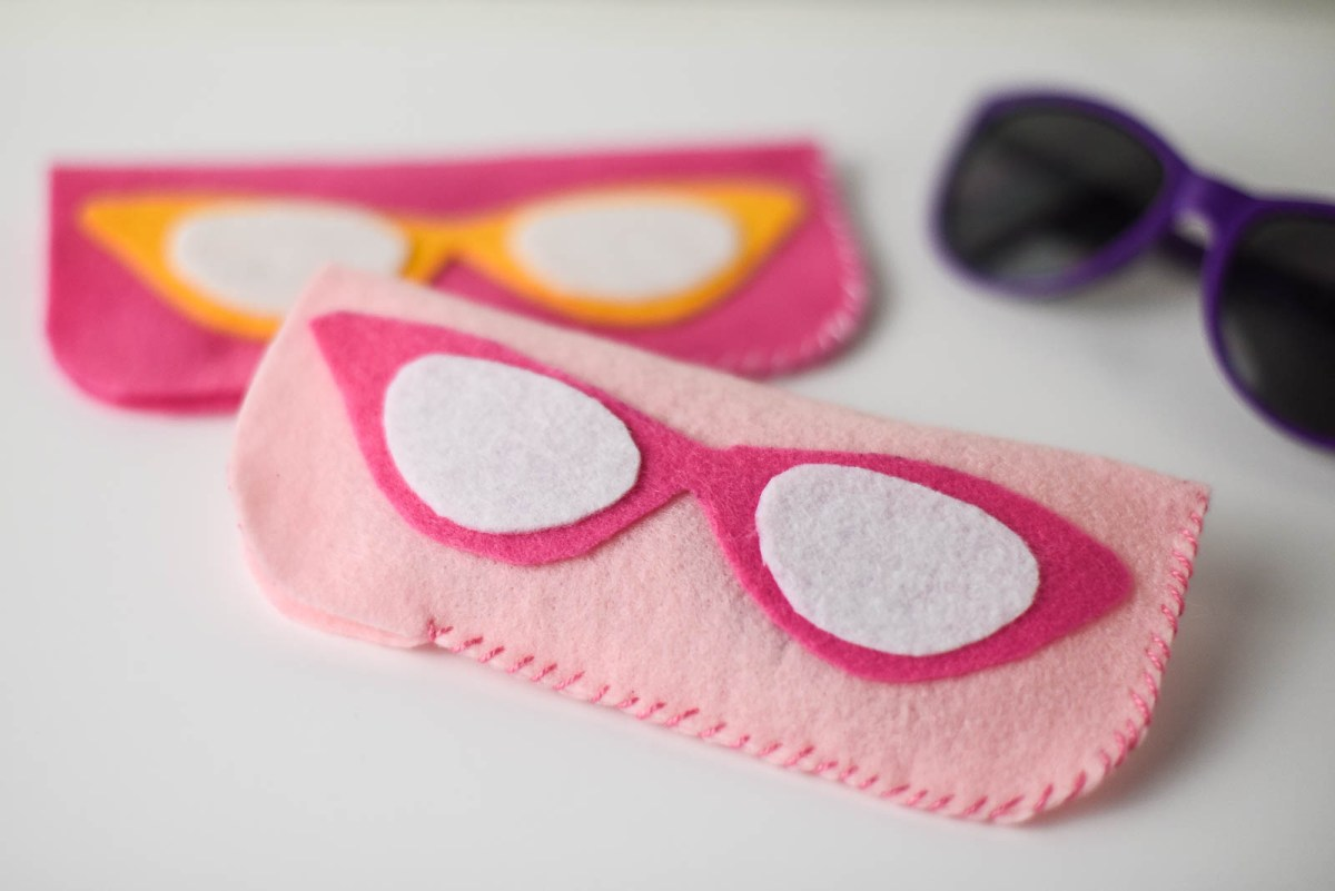 Spectacular Last Minute Gift: Easy DIY Felt Eyeglass Case