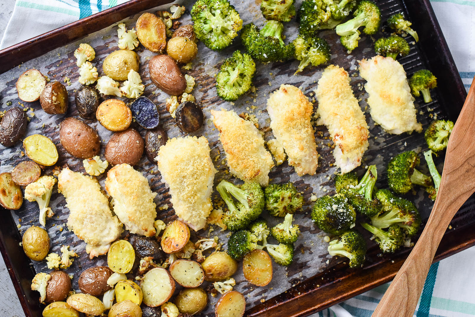 Sheet Pan Parmesan Chicken