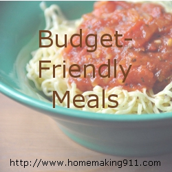 Budget Friendly Meals