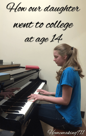 College at 14? Here's how we did it.