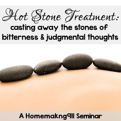 Hot Stone Treatment Seminar from Homemaking911