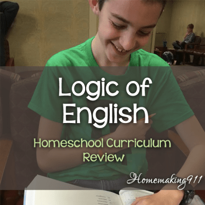 Logic of English - Homeschool Curriculum Review