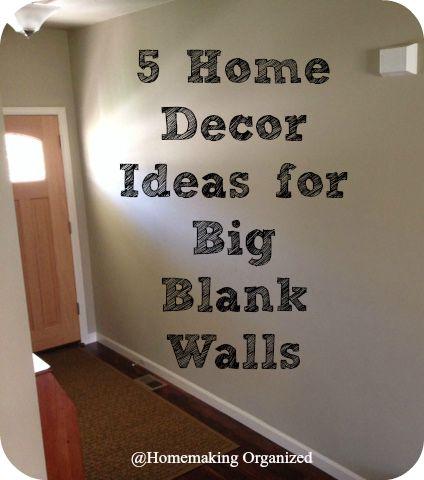 Decor Ideas For Big Walls Decorating Ideas   Ideas For Big Walls