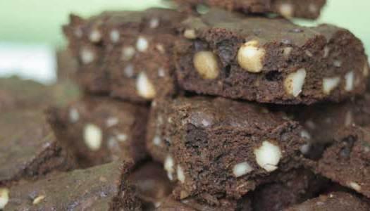 Gastronomia responsável e o Brownie de Macadâmia