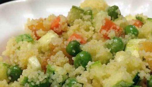 Couscous Marroquino Vegetariano