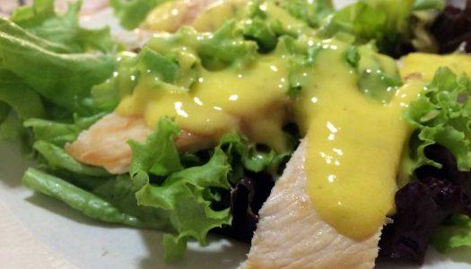 Molho de manga para saladas
