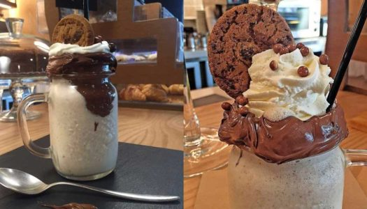 Cookies N` Cream Milk Shake do Hilton Hotel