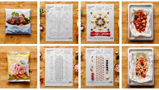 Ikea lança o Cook This Page – um caderno de receitas comestível