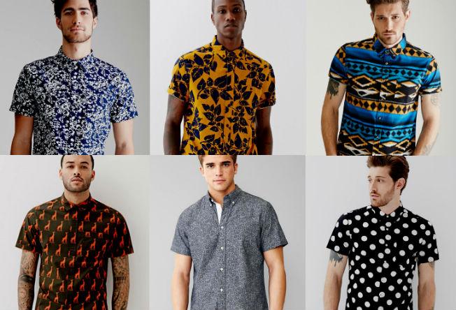Homem No Espelho - Camisas estampadas masculinas.