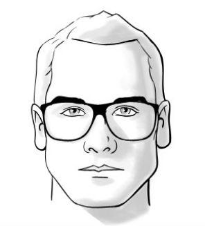Homem No Espelho - Óculos e formatos de rosto - Triângulo