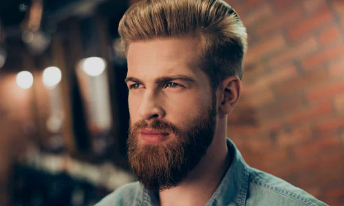Como Desenhar Os Contornos Da Barba E Do Bigode Homem No Espelho