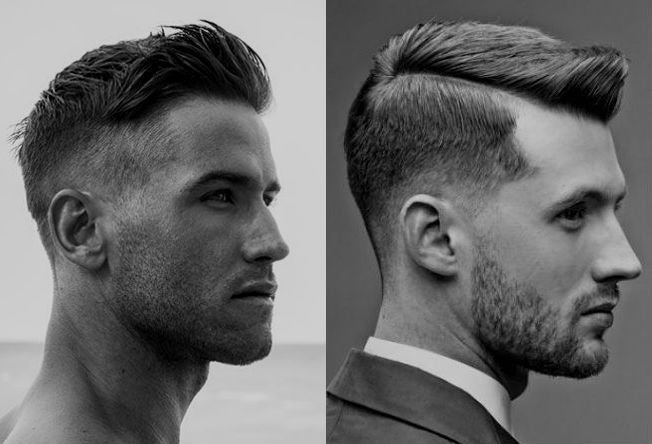 Homem No Espelho - Cortes de cabelo masculinos Undercut e Razor Cut