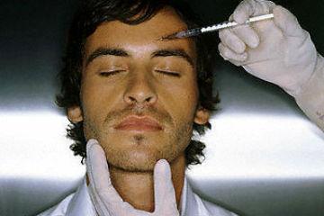 Homem No Espelho - Botox para homens