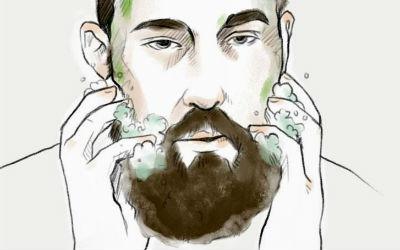 Homem No Espelho - Cuidados com a barba-4