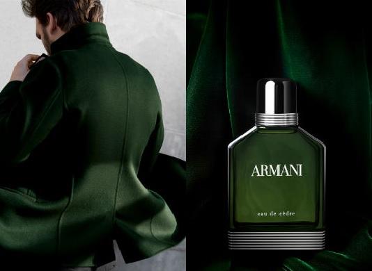 Homem No Espelho - Armani-eau-de-cedre