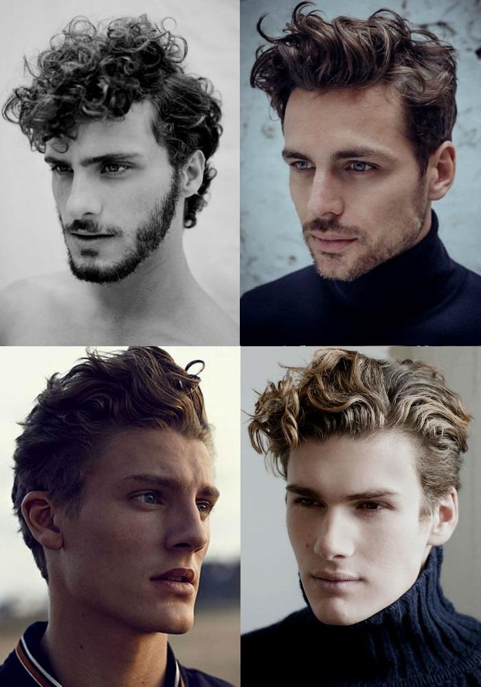 Homem No Espelho - Novos cortes de cabelos masculinos - cachos