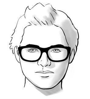 Os Oculos Certos Para Cada Formato De Rosto Homem No Espelho