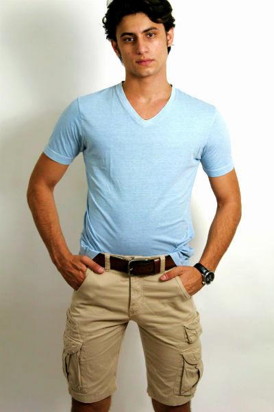 Homem No Espelho - Moda masculina - Bermuda cargo