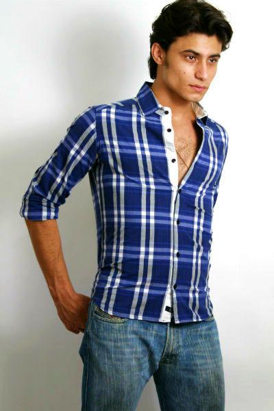 Homem No Espelho - Moda masculina - Camisa xadrez