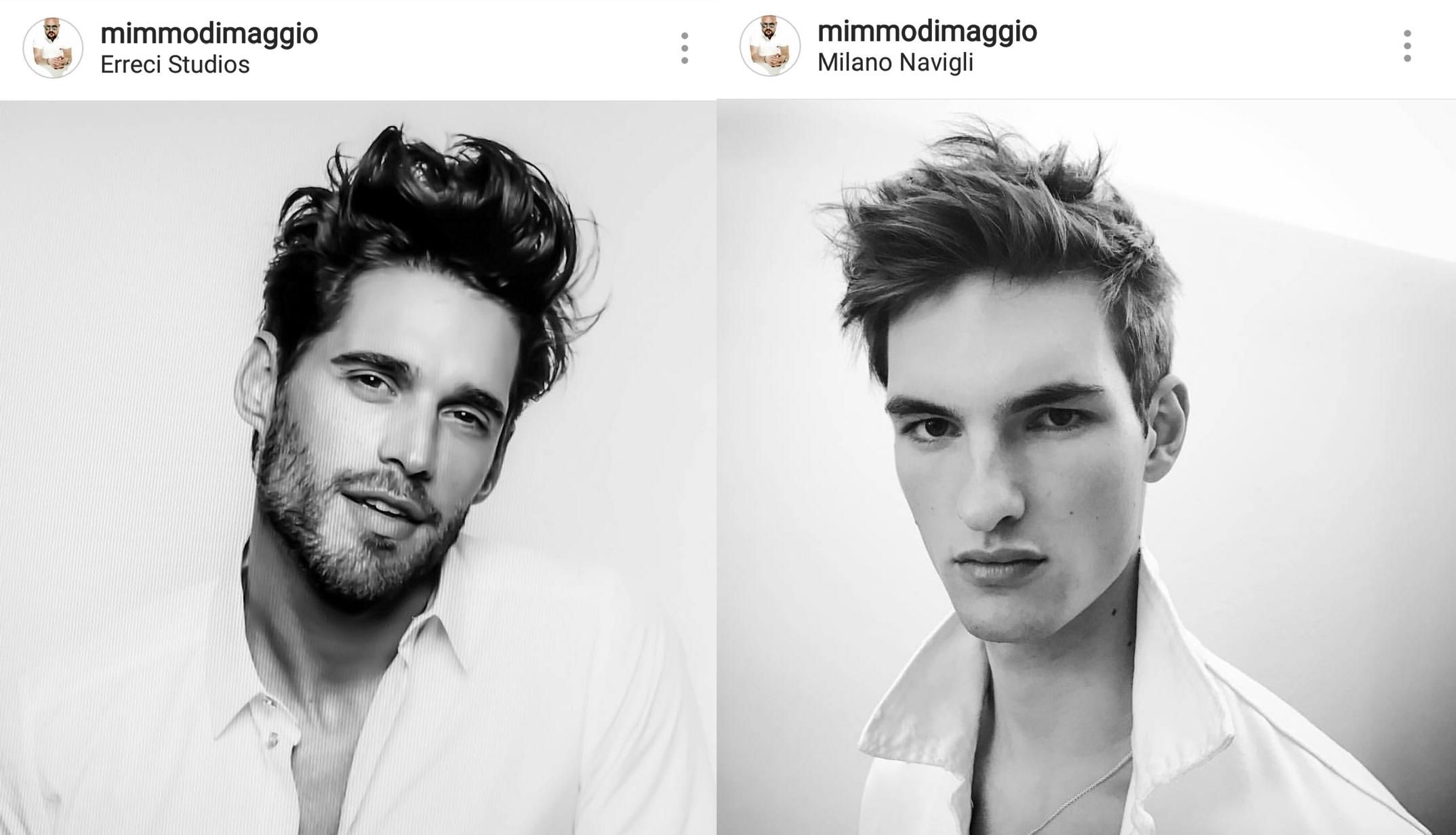 Cortes de cabelo masculino 2018 - tendências - Instagram