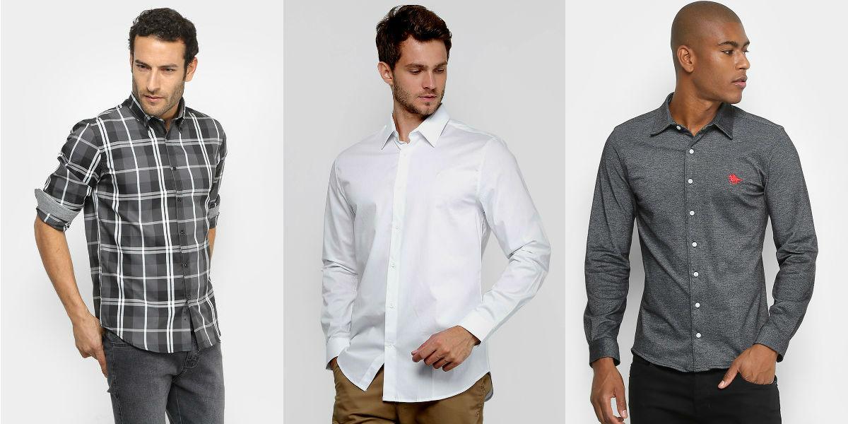 Homem No Espelho - Tipos de camisas masculinas - Comprar
