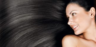 maintaining beautiful glowing hair