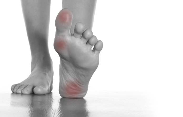 Natural cures for foot pain