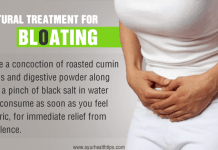 bloating home remedy